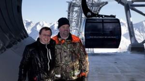 Jakob Falkner, GF Bergbahnen Sölden und Michael Doppelmayr freuen sich über das gelungene Projekt.