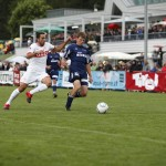 Der VfB Stuttgart hält sein Trainingslager in Längenfeld im Ötztal ab.