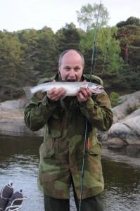 Der geb?rtige ?tztaler Markus Nagele ist ein passionierter Angler und J?ger.