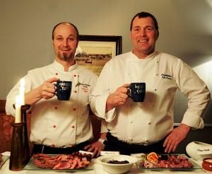 Markus_Nagele und sein Kochkollege Arild Karlsen