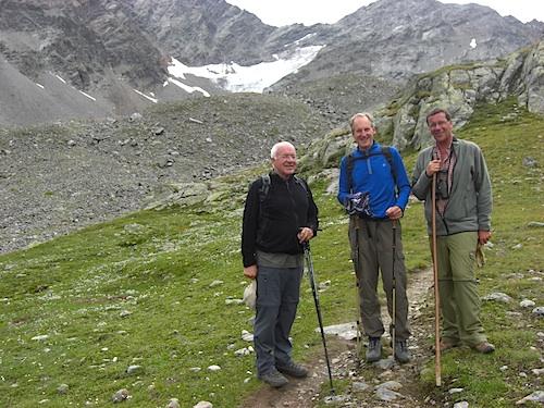 Der Stuttgarter Oberbürgermeister Wolfgang Schuster verbrachte seinen Erholungsurlaub im Ötztal.