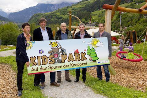 Offizielle Präsentation des Kids Park Oetz.