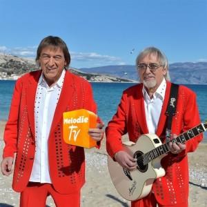 Die Amigos auf Melodie TV.