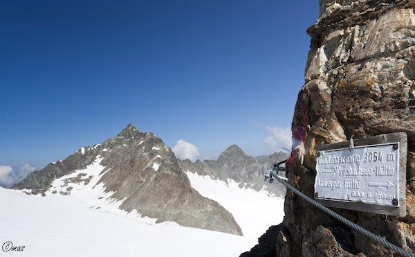 Gaislehnscharte auf 3.054 m