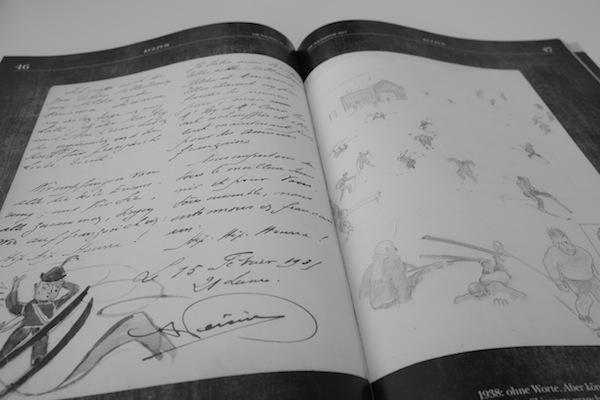 Historisches Gästebuch vom Sonnblick aus dem Archiv von Martin Riml