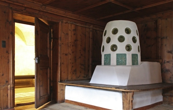 Stube im Ötztaler Heimat- und Freilichtmuseum Längenfeld
