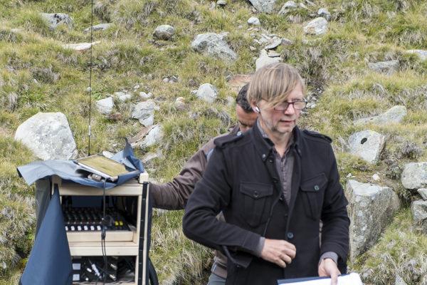 """Regisseur Hubert Lepka ersann das Wandertheater """"Friedl""""."""