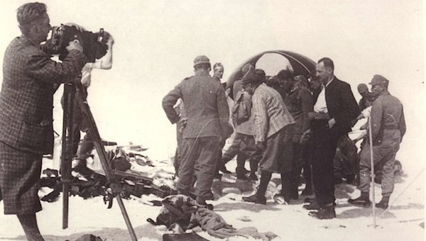 Die Landung von Stratosphärenforscher Auguste Piccard machte Obergurgl weltweit bekannt. Foto: Ötztal Tourismus / Much Heiss