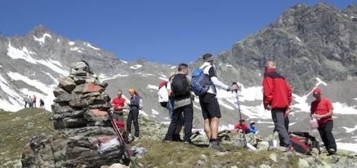 Gletschermarsch in Gries