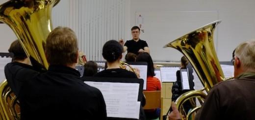 Neues Probelokal der Musikkapelle Längenfeld.