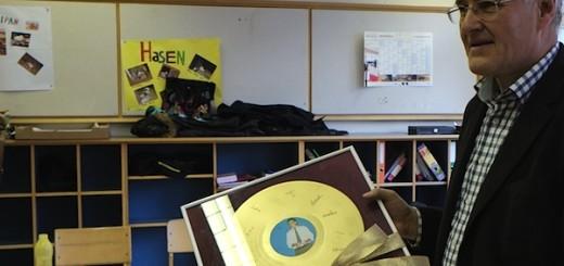 Goldene Schallplatte für Peter Klotz